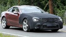 Mercedes SL 63 AMG Spied