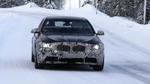 2014 BMW 5-Series facelift spy photo 23.01.2013 / Automedia