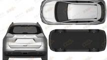 Next-gen Nissan X-Trail leaked patent photo