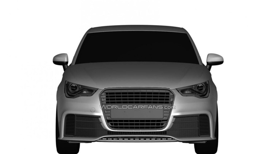 Audi RS1 Trademark Office designs leaked?