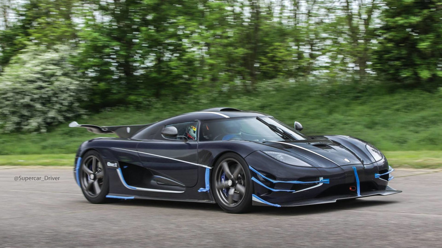 Koenigsegg One:1 hits 240 mph at Vmax200 speed event, sets new record