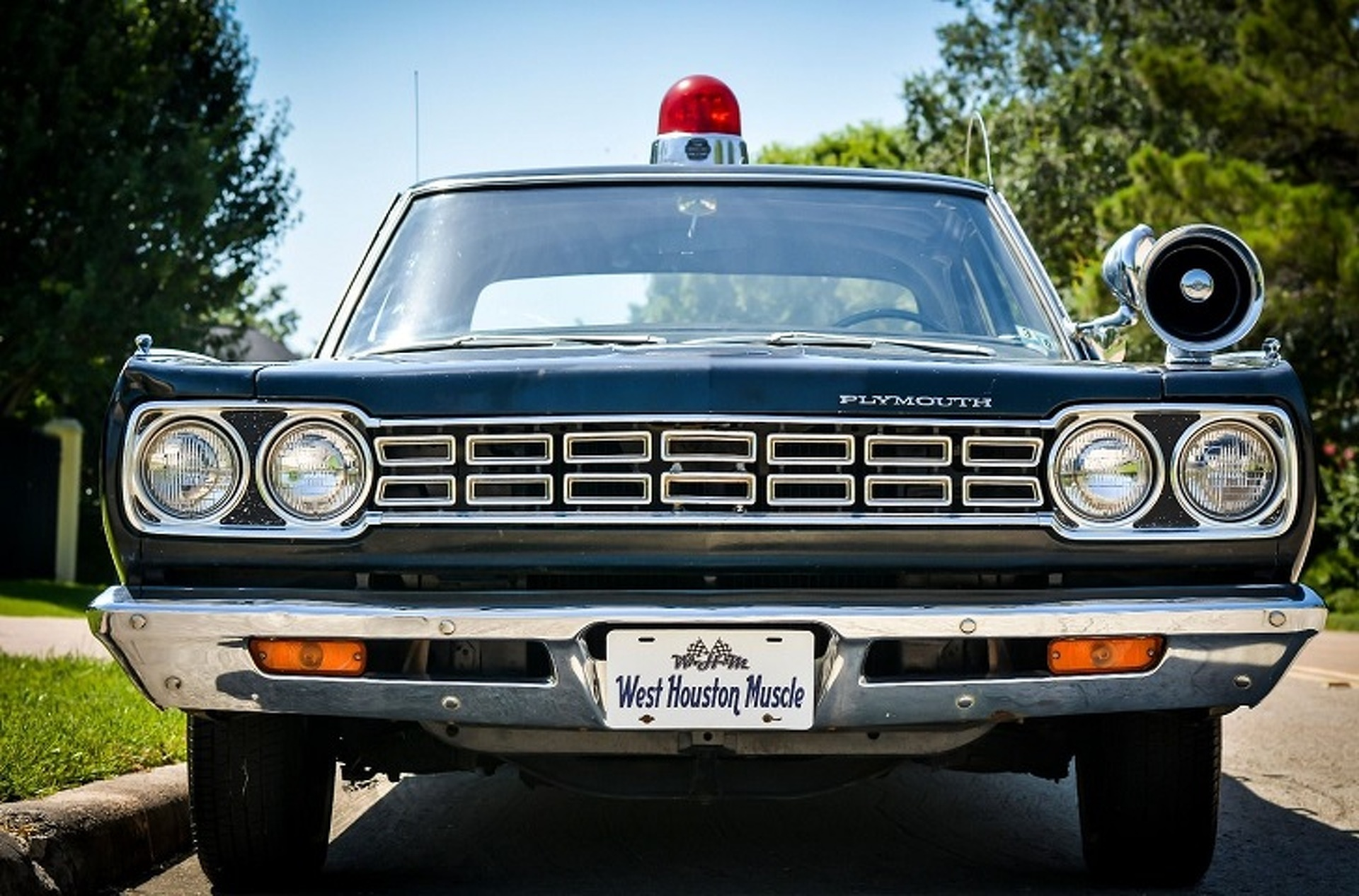 Drive The Thin Blue Line in This 1968 Plymouth Satellite Police Car