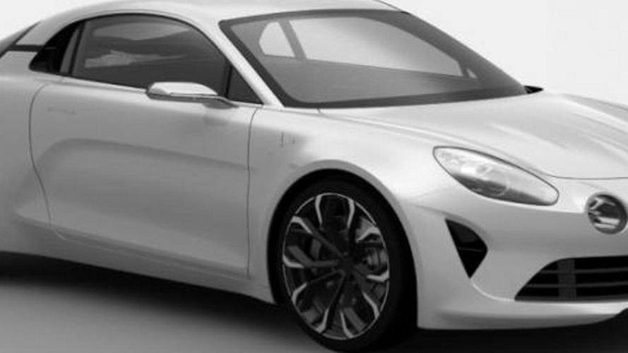 Patent designs show possible near-production Alpine concept