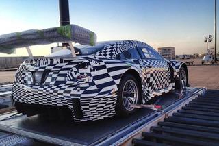 Cadillac ATS-V.R Racer Preps for LA Auto Show Reveal