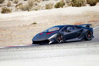 Lamborghini Sesto Elemento Soaking up the Vegas Sun