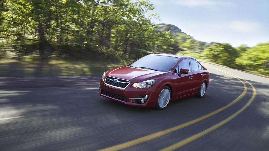 2015 Subaru Impreza unveiled with cosmetic updates and minor cabin tweaks