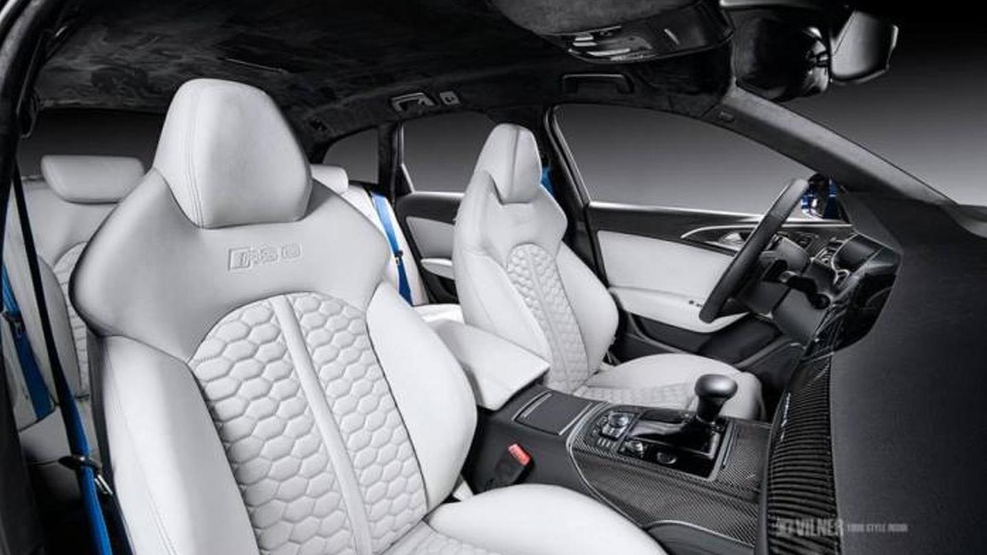 Новый салон Audi RS6 Avant от Vilner