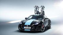 Jaguar unveils one-off F-Type R Coupe support vehicle for Tour de France
