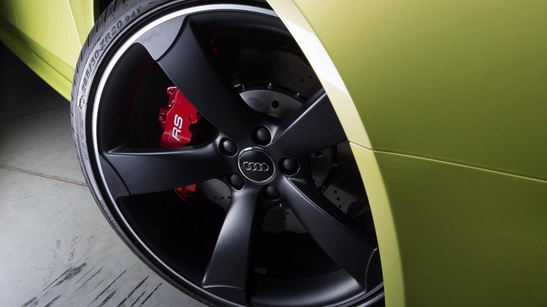 Чёрные матовые диски Audi RS4 Avant от Audi Exclusive