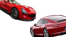 TVR Griffith versus Porsche 911