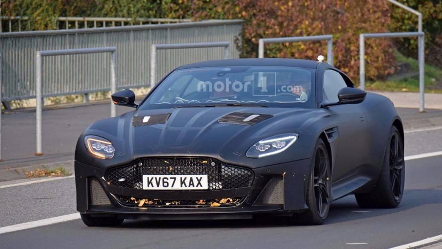 Aston Martin Vanquish Spy Photos