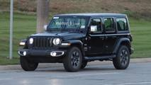 2018 Jeep Wrangler Lineup Spy Photos