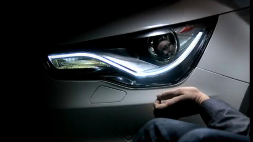 Audi A1, anche lei con i LED