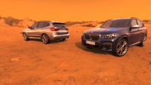 BMW X3 2018 visita virtual a Marte