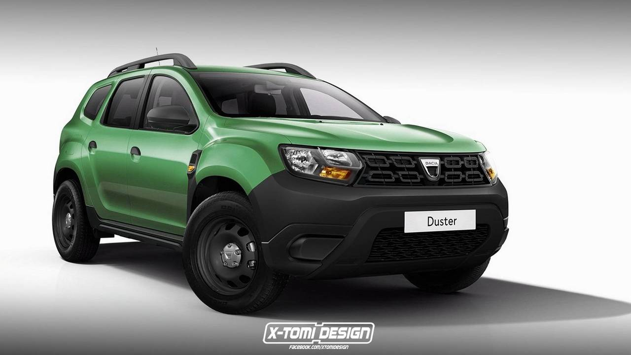 2018 Dacia Duster Basic render