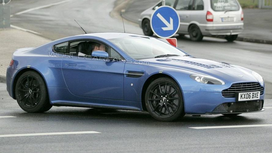Aston Martin V12 Vantage RS Spied Update