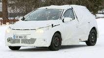 Renault Megane Mk3 Spied
