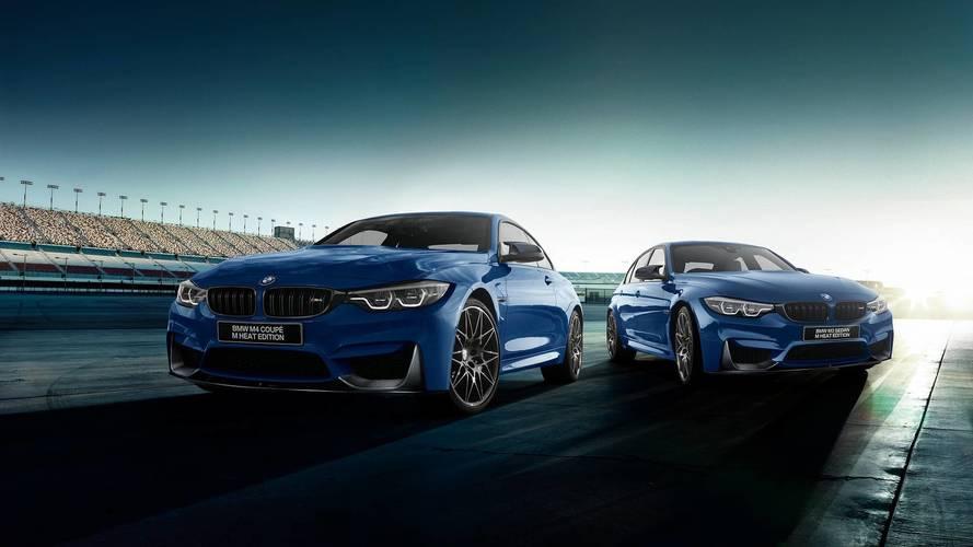 BMW M3 et M4 Heat Edition - Uniquement pour le Japon