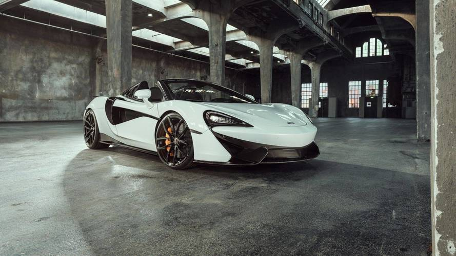 Tuned McLaren 570S Spider With 637 HP Is As Quick As 650S Spider