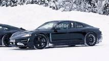 Porsche Mission E and 911 Spy Shots