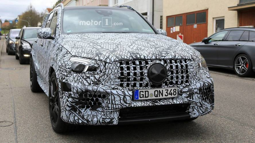 2020 Mercedes-AMG GLE63 Spotted Riding On 22-Inch Wheels