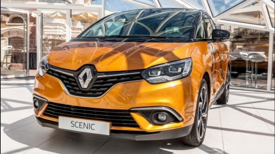 Nuova Renault Scenic, prezzi da 21.900 euro