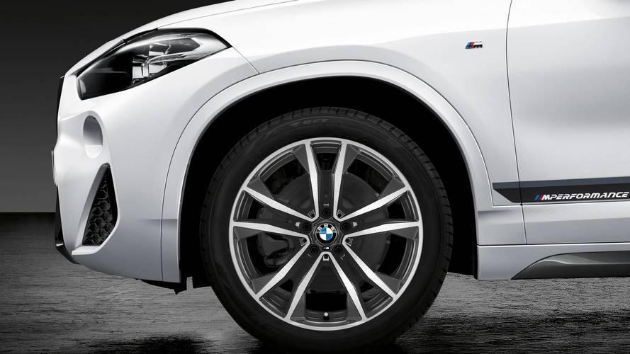 BMW X2, X3, X4 with M Performance Parts