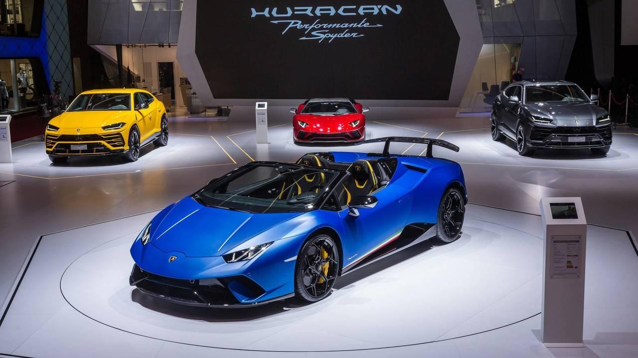 9.- (Empate técnico) Lamborghini Huracán Performante Spyder 2018