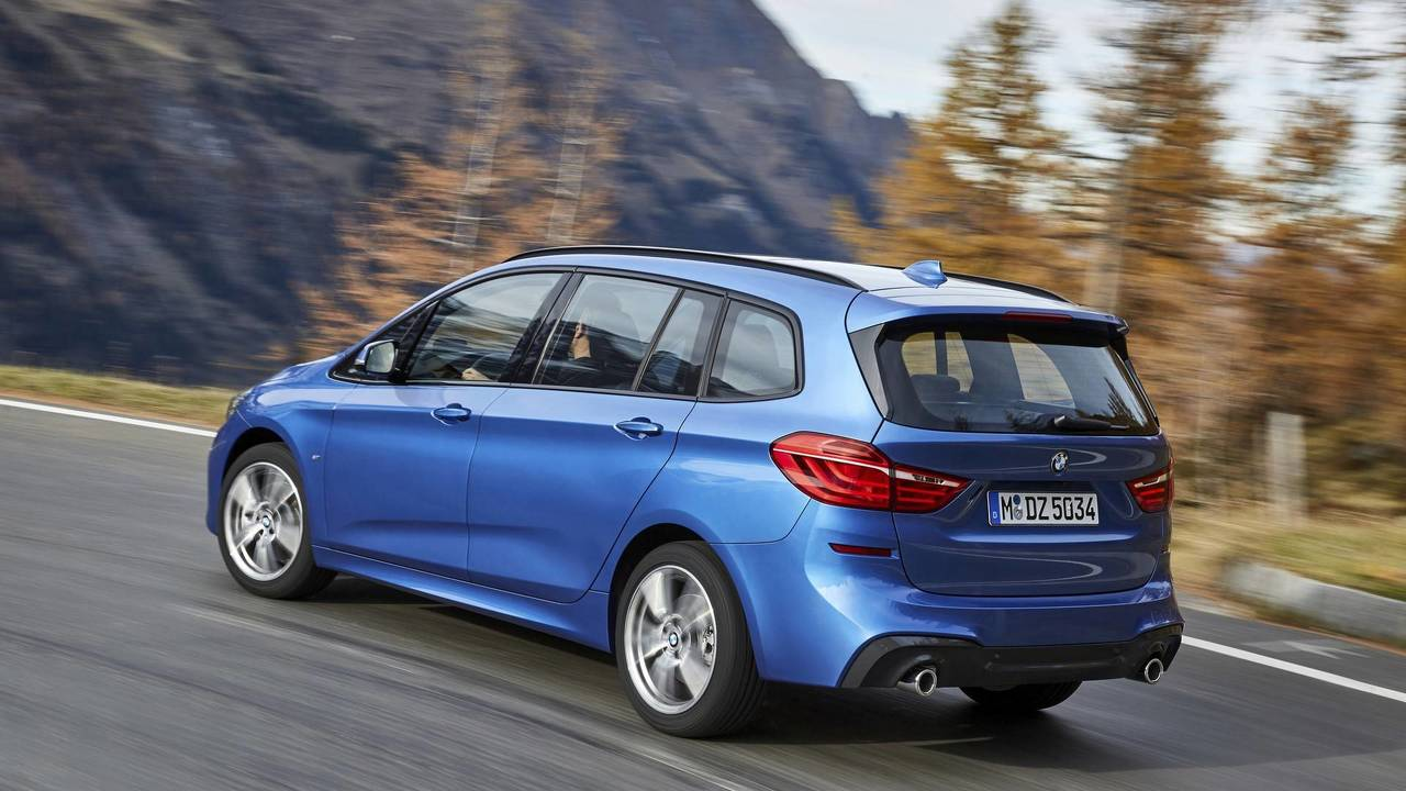 2018 bmw 2 series gran tourer facelift photo. Black Bedroom Furniture Sets. Home Design Ideas