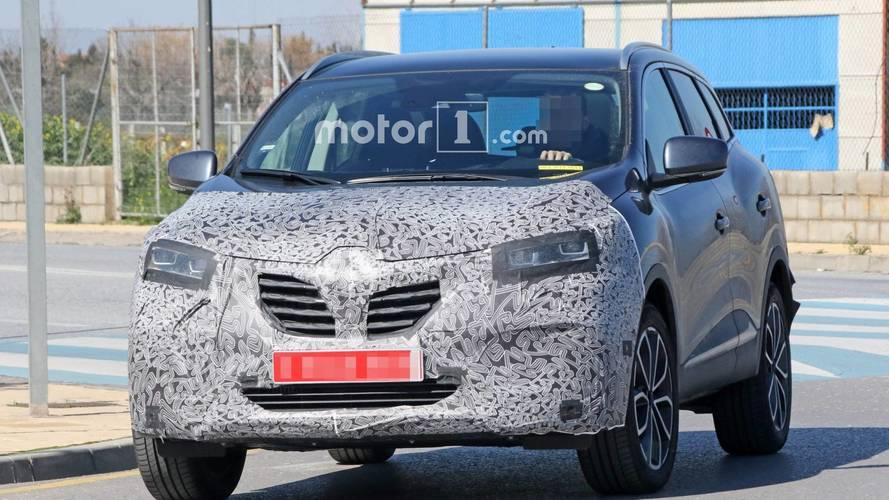 Renault Kadjar 2018 restyling, fotos espía