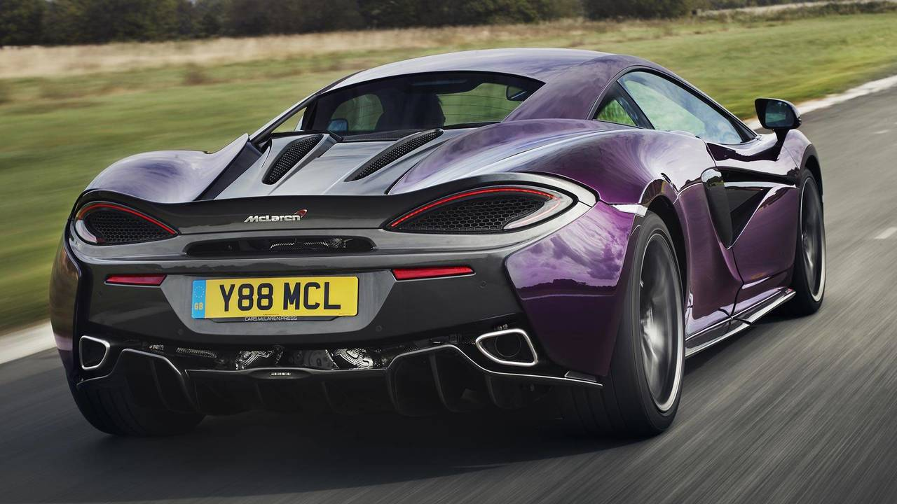 McLaren's New Titanium Exhaust Plays Music To Our Ears