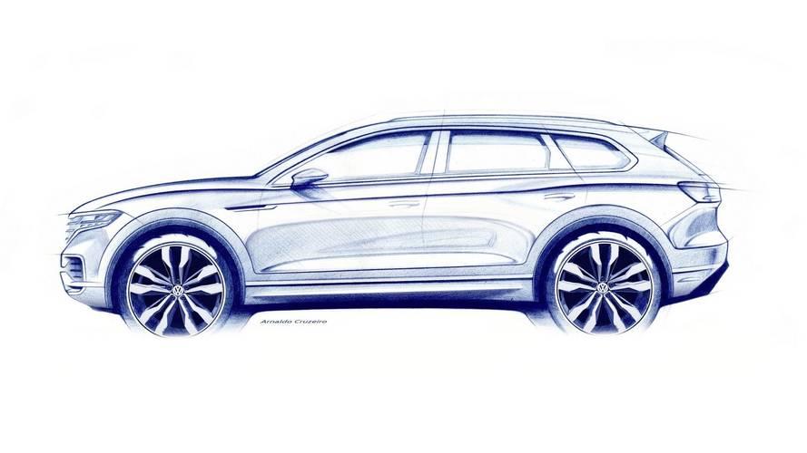 Új VW Touareg teaser