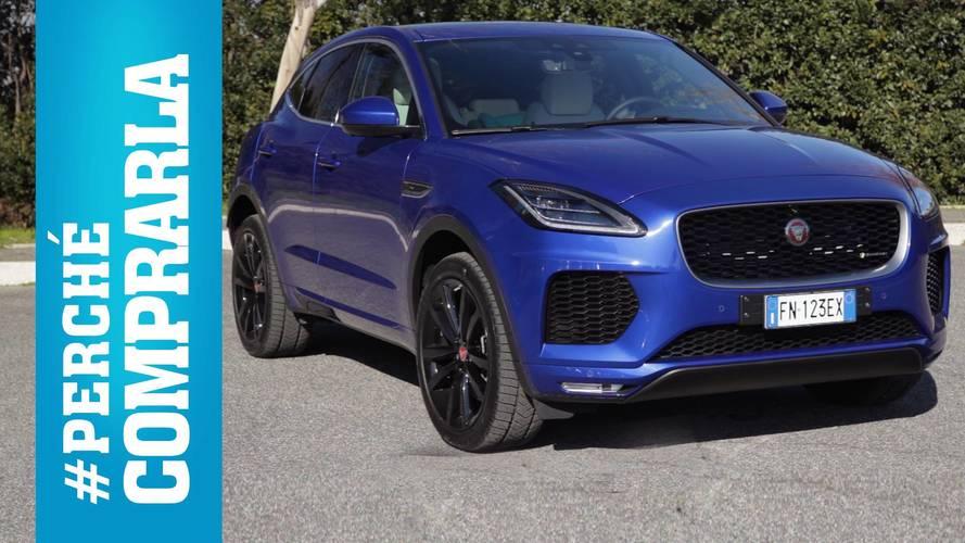 Jaguar E-Pace, perché comprarla... e perché no