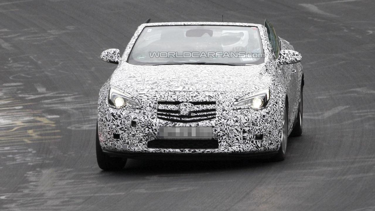 2013 Opel / Vauxhall Astra Convertible 24.8.2012