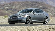 Jaguar XF-R Spied in the American Desert