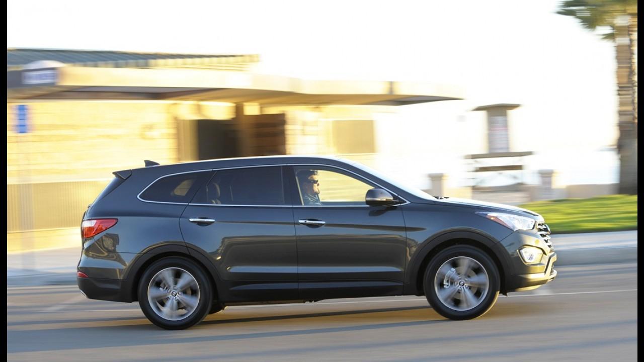 Hyundai apresentará versão de produção do Santa Fe de sete lugares no Salão de Los Angeles