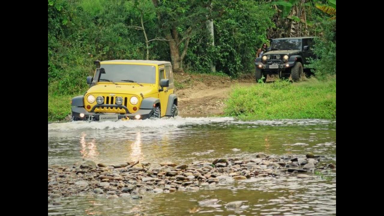 """Trilha """"Jeep Adventure 4x4"""" promove uso off-road dos veículos"""