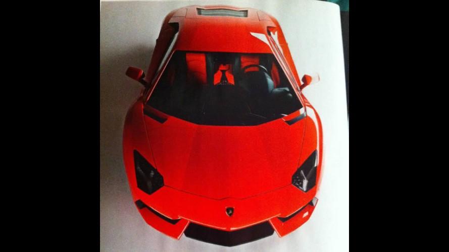 Vazou: Esta é a Nova Lamborghini Aventador LP700-4