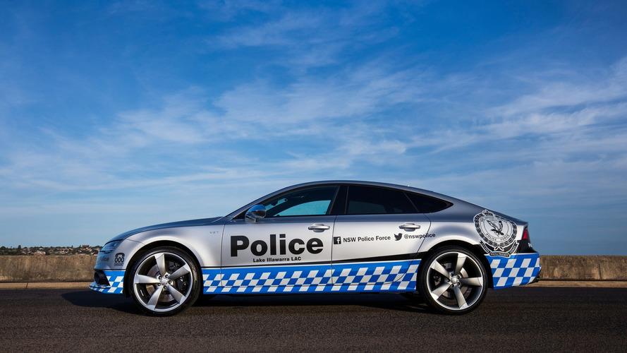 NSW Polis Kuvvetleri'nin Audi S7 Sportback'i