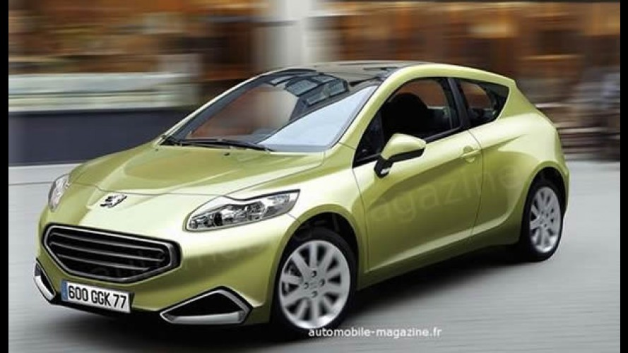 Projeção de revista francesa mostra como pode ser o Novo Peugeot 208
