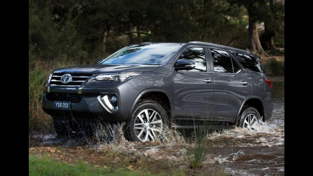 Aguardado no Brasil em 2016, novo Toyota SW4 é lançado na Argentina