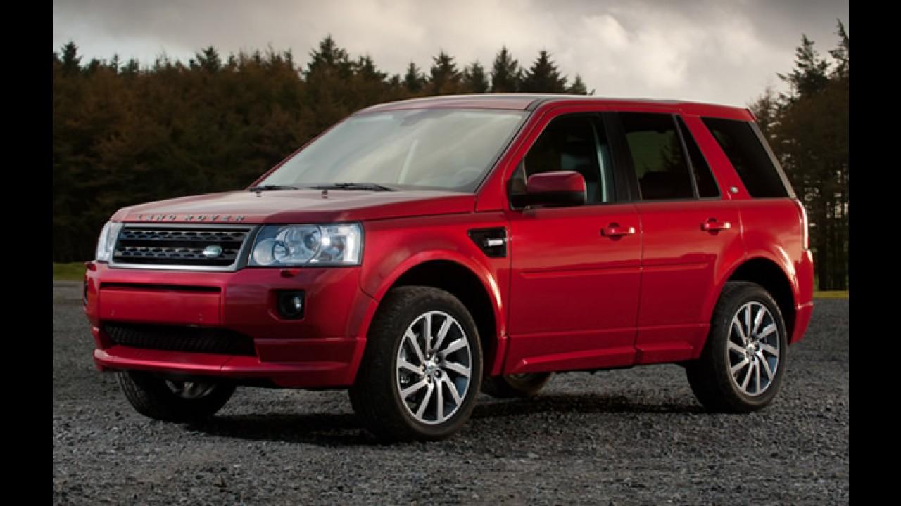 Land Rover confirma planos de construir fábrica no Brasil