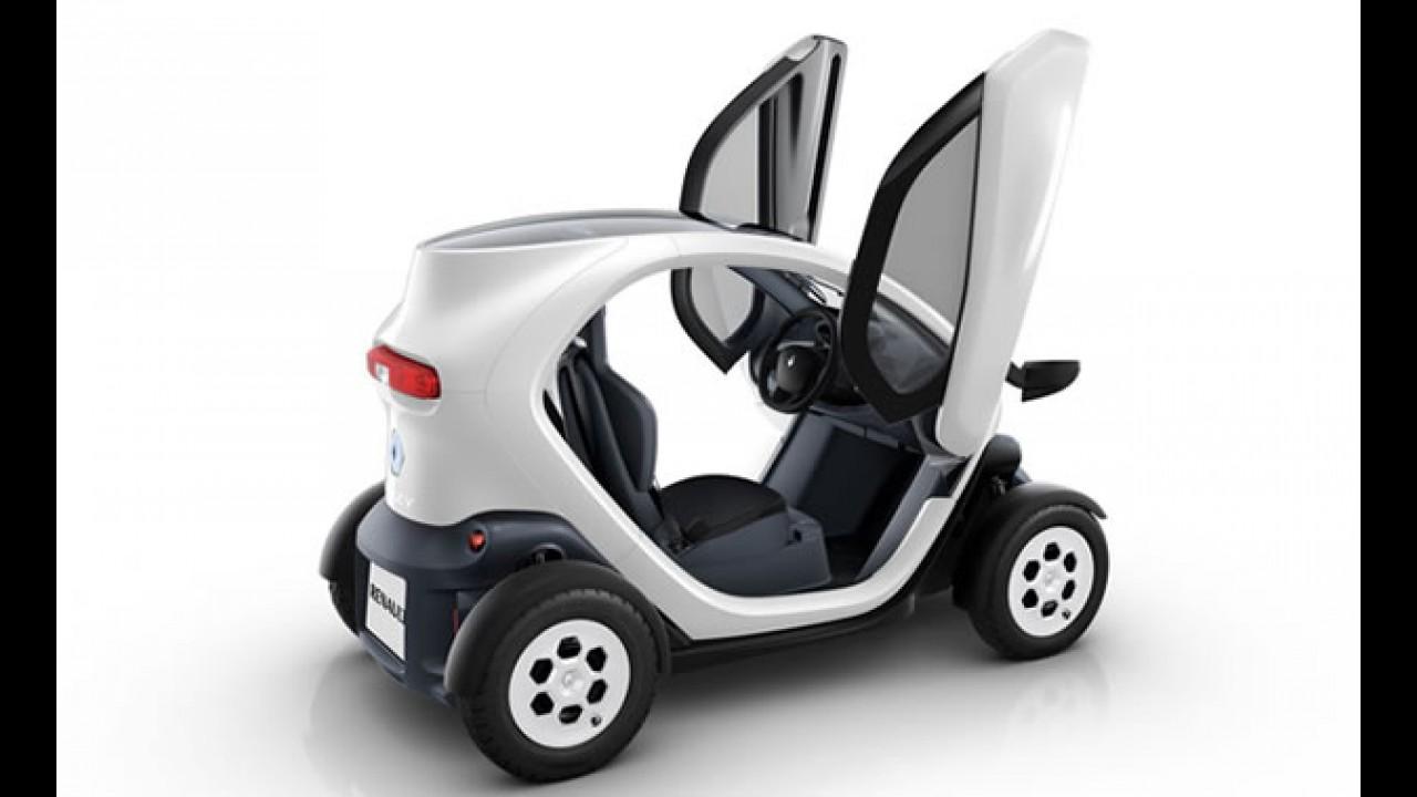 Renault Twizy será vendido no Brasil a partir de 2012