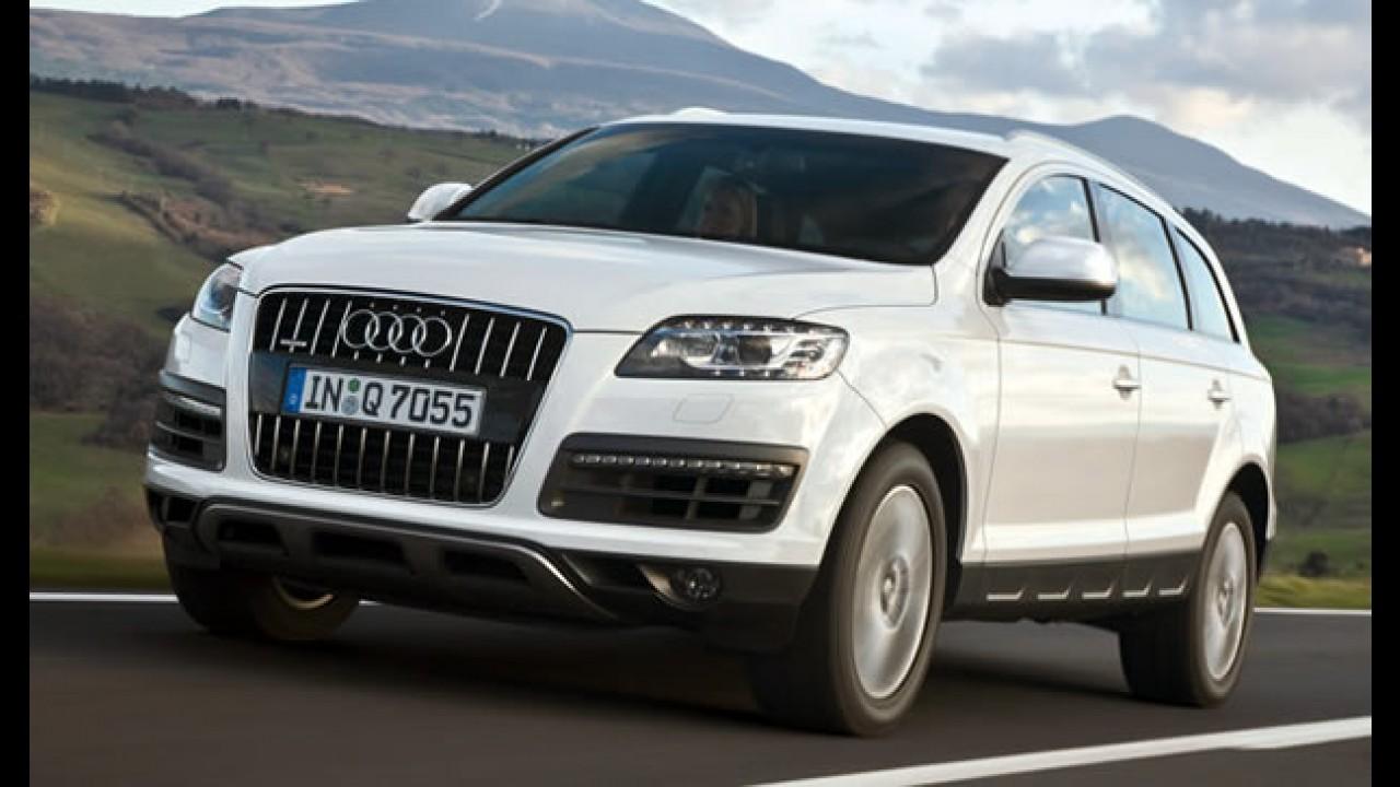 Em gestação: Audi já trabalha na próxima geração do Q7, que será 14% mais leve
