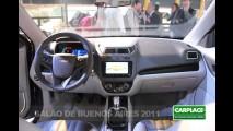 Flagra: Novo Chevrolet Cobalt sem disfarces - Veja as diferenças com o Agile