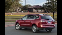 Salão de Nova York: Chevrolet apresentará novo visual do crossover Traverse
