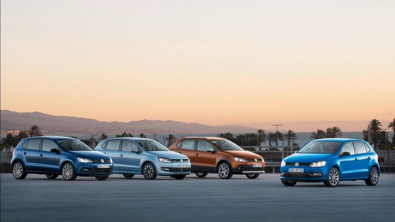 VW apresenta versão reestilizada do CrossPolo; estreia acontece em Genebra