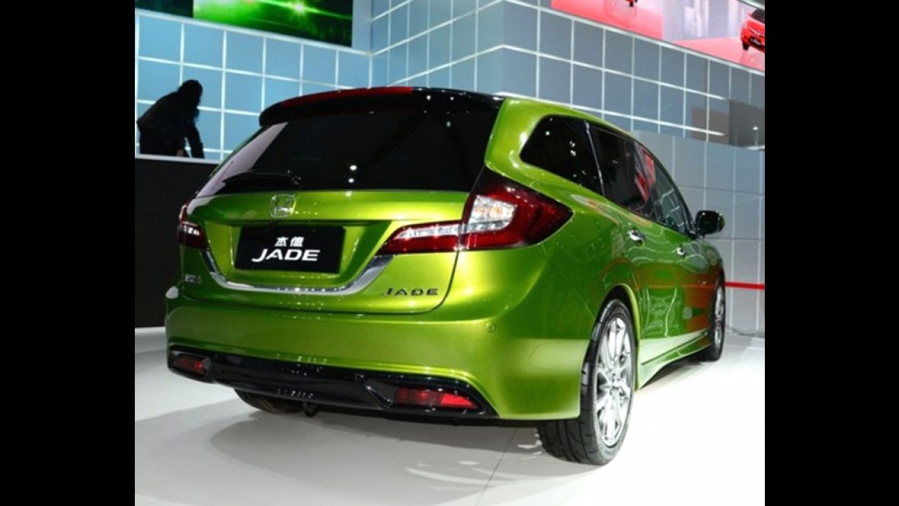 Xangai: Honda Jade é beleza exclusiva para a China