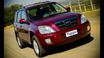 Chery anuncia recall de 12.500 veículos no Brasil devido à presença de amianto