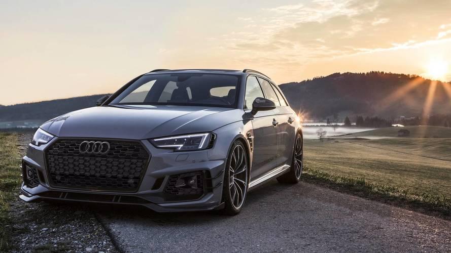 Audi RS4-R Avant por ABT, un familiar de pasarela